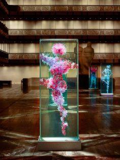 Glass Dancers Fill Lincoln Center in Latest Art Installation