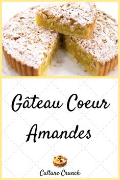 Cookie Recipes, Dessert Recipes, Thermomix Desserts, Almond Cakes, French Pastries, Almond Recipes, How To Make Cake, Cooking Time, Food And Drink