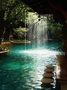 Pool bar at Sawasdee Village hotel   Flickr - Photo Sharing!