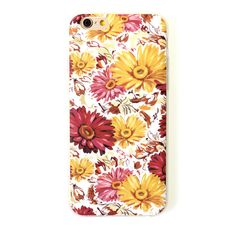 Daisy iPhone 6 plus case oil painting style summer flower iPhone 6 cover
