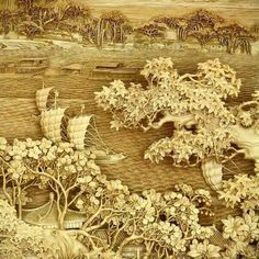 DongYang wood carving is the dying Chinese art that was arose in the century. It is well-designed form of break carving in the wood. Chinese Crafts, Chinese Art, Art Sculpture En Bois, Statues, Art Chinois, Wood Carving Art, Wood Carvings, Colossal Art, Wooden Art