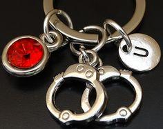 Esposas anillo en plata de ley  manilla por SilverPhantomJewelry