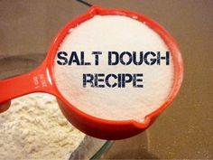 Proven salt dough recipe - ideal to make Christmas or holiday decorations, napkin rings and picture frames.