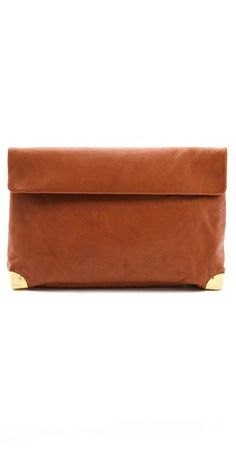 Golden Lane Large Duo Clutch | SHOPBOP