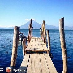 #Follow @lajollaca: Dock - #Lake #Atitlan #Guatemala #ILoveAtitlan #AmoAtitlan #Travel #Volcano #LakeAtitlan #LagoAtitlan by okatitlan