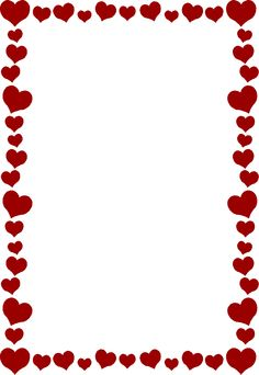 Bridal Association of America Wedding Clip Art Free Valentine Clip Art, Valentines Day Border, Page Frames, Heart Clip Art, Boarders And Frames, Heart Border, Photo Deco, Wedding Clip, Borders For Paper