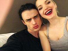 Dove & Thomas discovered by 𝐜𝓪𝓲𝓵𝓵𝓲𝓷 on We Heart It Cute Couples Photos, Couples In Love, Couple Pictures, Dove Cameron, Thomas Doherty, Cameron Homes, Dove And Thomas, Disney Channel Descendants, Live Life Love