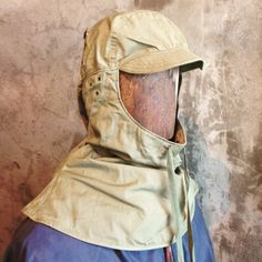 Dead stock WW2 US Foul Weather Hood (Personal Collection).