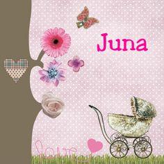 Geboorte, kinderwagen, vintage