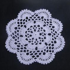 20 PCS Handmade Crocheted Doilies Round Mat&Pad Home Wedding Decorative Cup Mat, Home Wedding, Crochet Doilies, Coaster Set, Crochet Earrings, Lace, Fabric, Pattern, Cotton