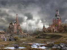 Gewitter und Wölfe: Zerstörtes Moskau