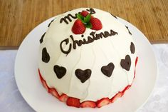 If you don't like fruitcake, try making a Japanese Christmas Cake.    A light, fluffy sponge with fresh cream and strawberries.