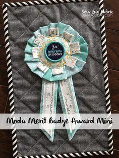 Tutorial : Merit Badge Award Mini Quilt – Sew Lux Fabric