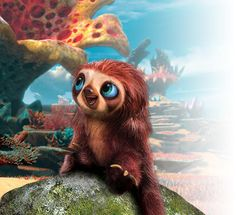 My favorite little animated baby sloth, Belt from The Croods! :D