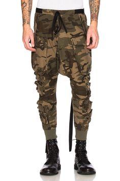 UNRAVEL Parachute Cargo Pants. #unravel #cloth #