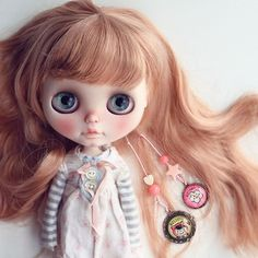 #sadiesprinkle #rbl #blythe #customblythe #blythecustom #doll #K07 #K07doll