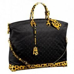 Louis Vuitton Kusama collection.  Love this bag?