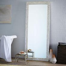 Metal Framed Floor Mirror | Floor mirror, Metals and Bedrooms