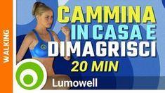 Cammina in casa e dimagrisci rapidamente. Allenamento completo di 20 minuti per dimagrire e tonificare il corpo camminando. Cardio workout di basso impatto p...