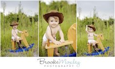 Cowboy outdoor one year session, North Carolina Photography Kid Photography, Newborn Photography Props, Birthday Bash, Baby Birthday, Old Pictures, Baby Pictures, First Birthday Pictures, Cowboy Theme, Kid Poses