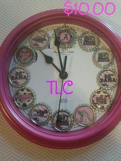 On sale all clocks $10