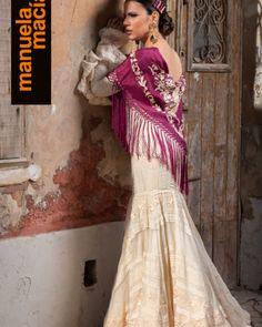 Colección 2019 Manuela Macías Moda Flamenca Sari, Halloween, Dresses, Dance, Fashion, Templates, Pattern Drafting, Flamenco Dresses, Saree