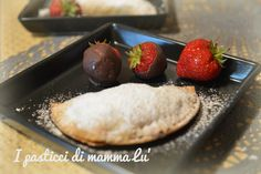 Ravioli nutella e fragole