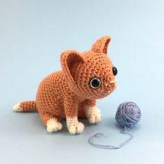 Nutmeg the Kitten amigurumi pattern by Irene Strange