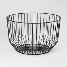 Round Wire Basket Small - Black - Project by Target Ikea, Design Blogs, Large Baskets, Minimalist Decor, White Decor, Cool Kitchens, Small Kitchens, Decorative Bowls, Decorative Objects