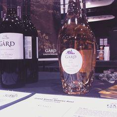 Taste Washington wine event - Rose, Cabernet Sauvignon and Don Isidro red blend