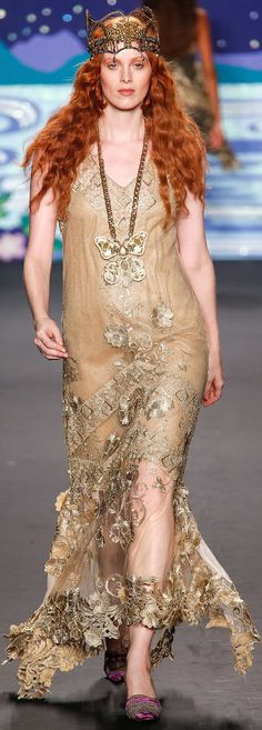 SPRING 2014 RTW Anna Sui  | The House of Beccaria