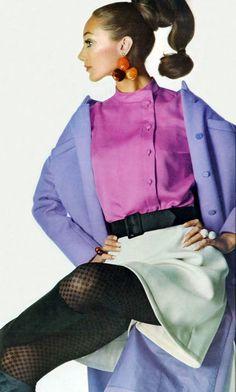 Marisa Berenson.  Vogue, 1967.
