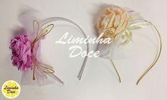 Acessórios Cabelo Faixa Flor Cetim Tecido Laço Fita Liminha Doce Moda Feminina Infantil Blog 2