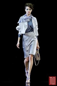 Giorgio Armani Spring 2014 Collection | Tom & Lorenzo