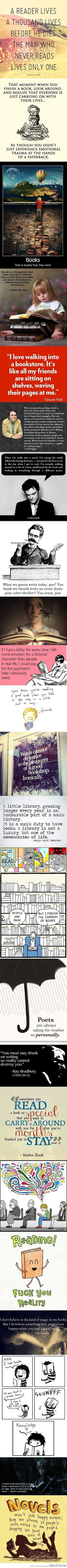 The best things about reading