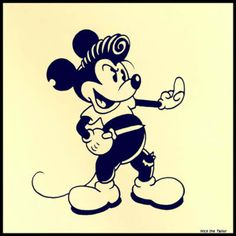rocabilly Mickey :)