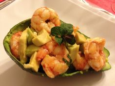 Insalata di gamberi ed avocado