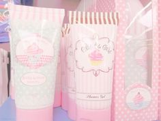 Cupcake beauty products; what a treat.