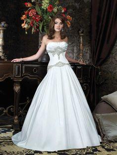 Audrey-Vestido de Noiva em cetim - dresseshop.pt
