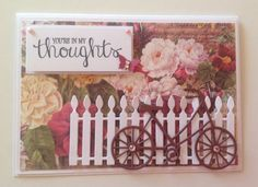 Handmade 'Thinking of you' card