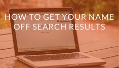 Tips to remove your name and personal info from search engines - by the Defamation removal experts at How To Remove, How To Get, How To Plan, Best Drip Coffee Maker, Some Love Quotes, Cool Anime Pictures, Google Search Results, Thing 1, Cool Gadgets To Buy