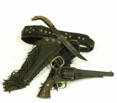 Chief Red Shirt's Remington New Model Percussion Revolver