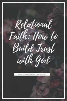 Experiential knowledge is crucial to building trust with God and developing an unshakable faith.