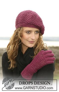 Free knitting patterns and crochet patterns by DROPS Design Drops Design, Knitting Patterns Free, Free Knitting, Free Pattern, Knit Or Crochet, Crochet Hats, Magazine Drops, Knitting Accessories, Knitted Gloves