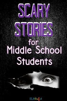 Middle school students LOVE these scary stories! Use them all year long to ignite students' interest! #scarystories #middleschoolreluctantreaders