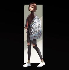 Kaya and Ziana ArtStation - study drawing, wonbin lee Character Drawing, Character Illustration, Illustration Art, Tmblr Girl, Fashion Art, Girl Fashion, Petty Girl, Grafiti, Beautiful Anime Girl