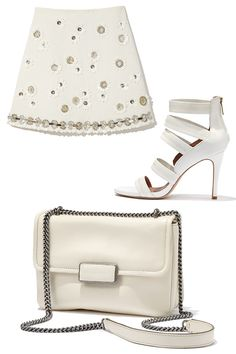 White on White: Find your fresh start for spring with light pieces from Marc By Marc Jacobs, MSGM, & Joie.