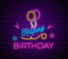 Are you looking for inspiration for happy birthday typography?Navigate here for perfect happy birthday ideas.May the this special day bring you happy memories. Happy Birthday Best Friend, Happy Birthday Wishes Images, Happy Birthday Flower, Happy Birthday Signs, Birthday Wishes Quotes, Happy Birthday Greetings, Birthday Ideas, Neon Birthday, Happy Birthday Typography