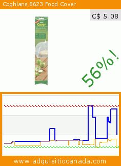 Coghlans 8623 Food Cover (Lawn & Patio). Drop 56%! Current price C$ 5.08, the previous price was C$ 11.52. https://www.adquisitiocanada.com/coghlans/coghlans-8623-food-cover