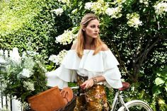 Olivia Palermo in the Aerin Lauder resort 2017 campaign.